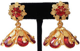 Kerala Style Palakka Earrings - EJK2603R
