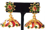 Kerala Style Palakka Earrings - EJK2605R