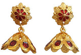 Kerala Style Palakka Earrings - EJK2609R