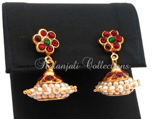 Lightweight Jhumki Earrings - JMK2503