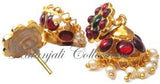 Kempu Pearl Jhumki Earrings - JMK2506