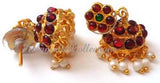 Kempu Pearl Jhumki Earrings - JMK2507