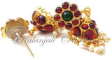 Kempu Pearl Jhumki Earrings - JMK2509