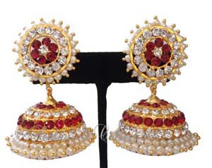 Jhumki Earrings - JMK2519R