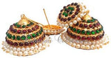 Kempu Jhumki Earrings - JMK2526