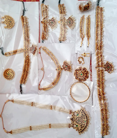 Kemp Jewelry Set for Kuchipudi Bharatanatyam KMPSET512