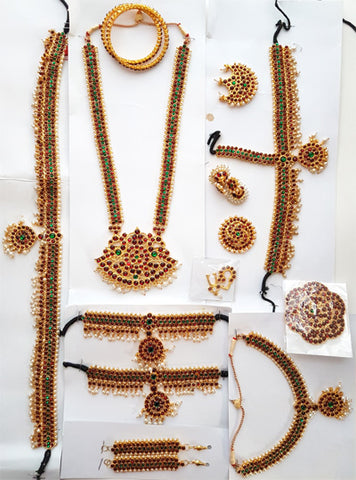 Kemp Jewelry Set for Kuchipudi Bharatanatyam KMPSET513