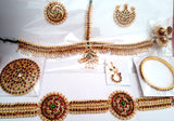 12pc Dance Jewelry Set - Kuchipudi Bharatanatyam KMPSET503