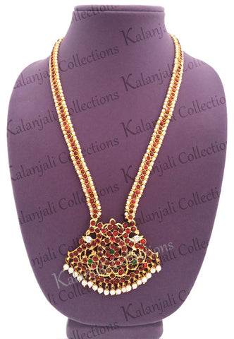 Bharatanatyam Kuchipudi Long Necklace-LNK2115