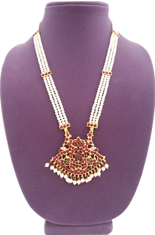 Kids Long Necklace Haaram - LNK2114