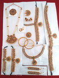 13pc Dance Jewelry Set Kuchipudi Bhartanatyam KMPSET502