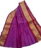 Kuchipudi Dress Purple Maroon