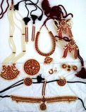 Original Temple Jewelry Set for Kuchipudi Bharatanatyam TMPSET-11