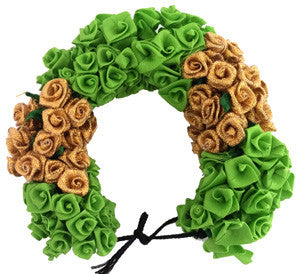 Green Rose Flower Veni