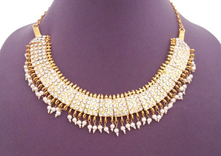 Kuchipudi Bharatanatyam Short Necklace - SN2217