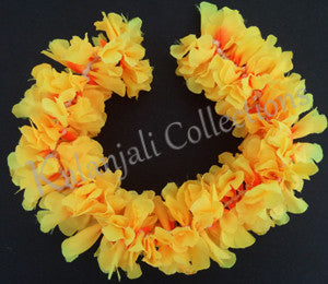 Synthetic Cloth Yellow Flower Stream- 1'