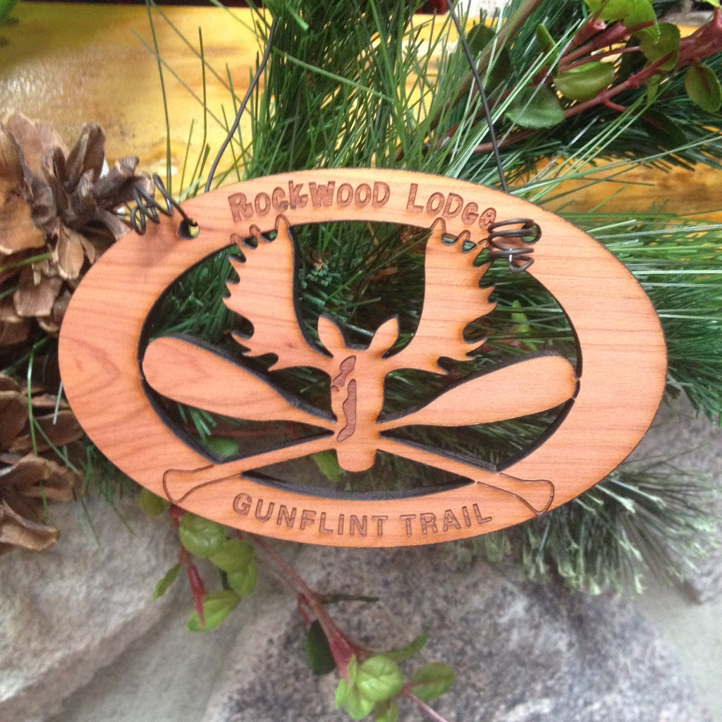 Custom Cedar Ornaments Wholesale