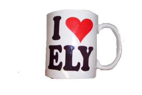 I Love Ely Coffee Mug