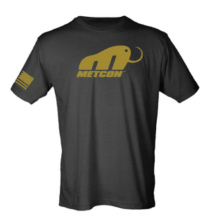 Men's MetCon T-Shirt Black w/ Gold Print