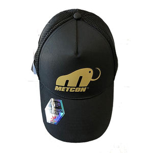 MetCon Head Sweat Snap Back Performance Trucker Hat (Black)