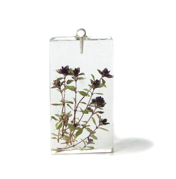Herbal Flower Pendant
