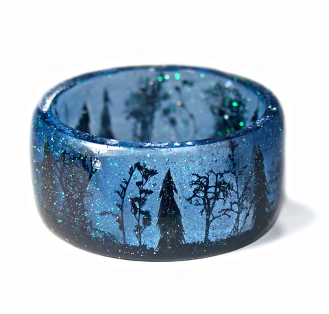 Stars Above the Forest Bracelet