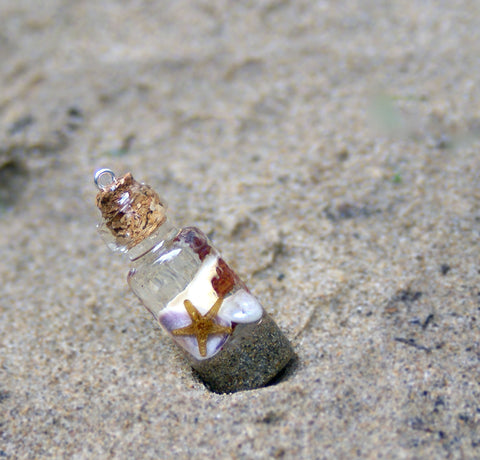 Beach in a Bottle Pendant