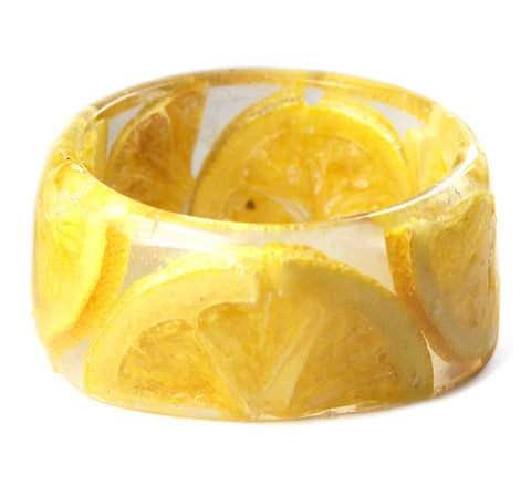 Lemon Slices Bracelet