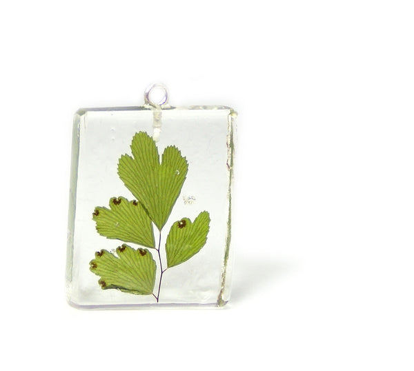 Maiden Hair Fern Pendant