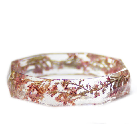 Heather Flowers Bracelet