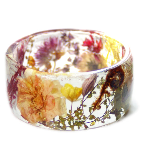 Mixed Flower Garden Bracelet