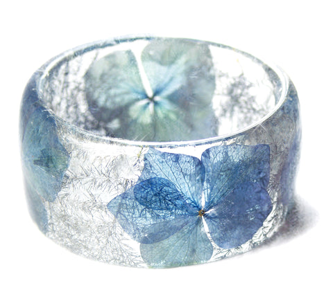 Blue Winter Flower Bracelet