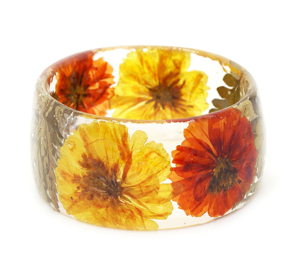 Bright and Bold Flowers Bracelet