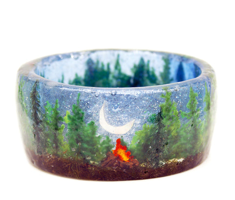 Camping in the Forest Bracelet