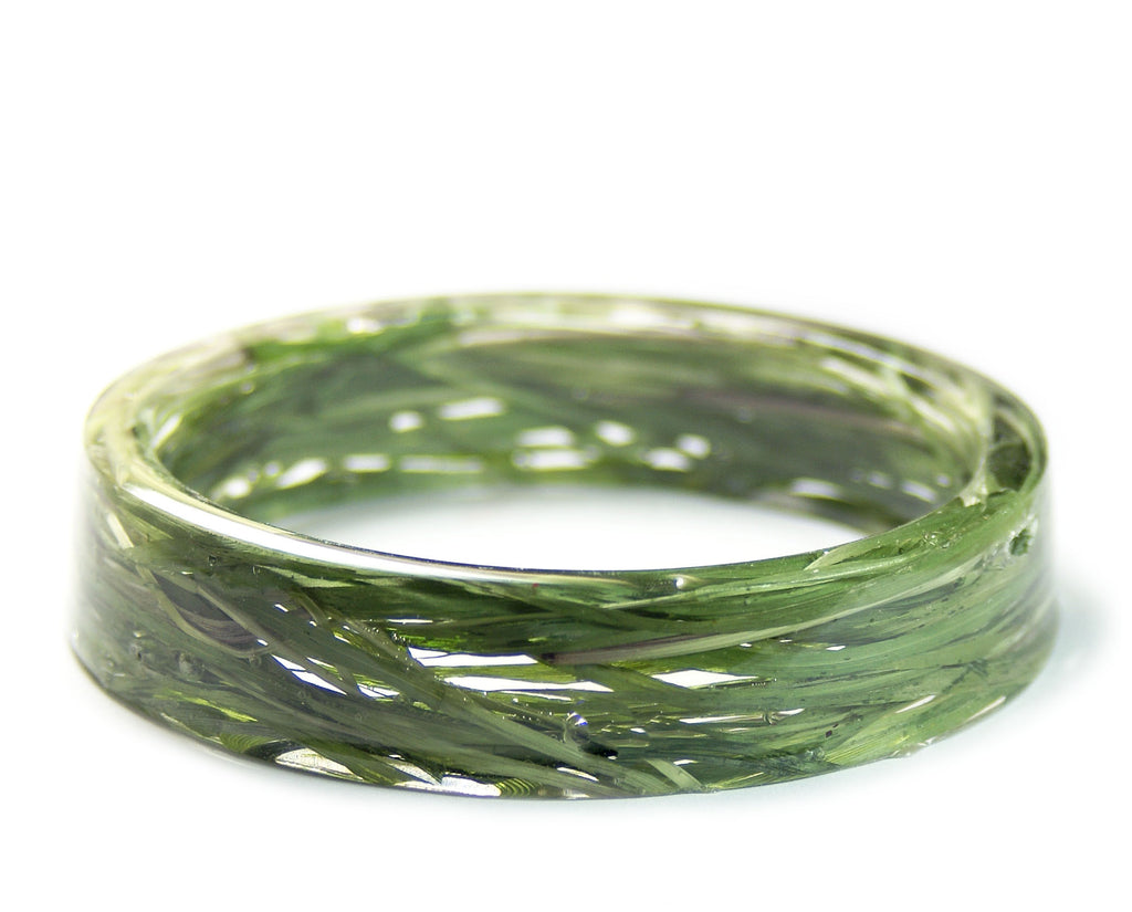 Green Summer Grass Bracelet