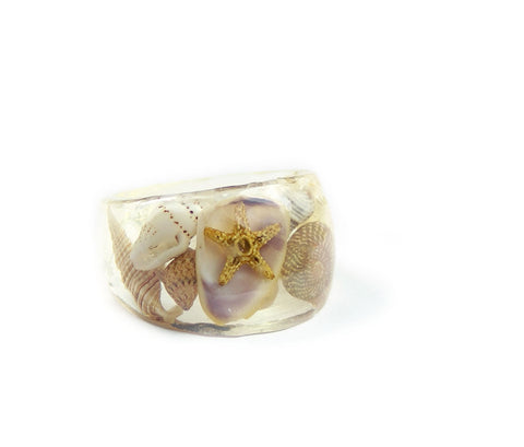 Summer Seashell Ring