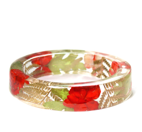 Holiday Flowers Bracelet