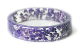Purple Flower Bracelet
