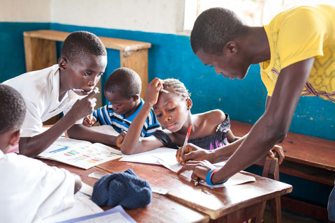 Schooling for a child in Sierra Leone