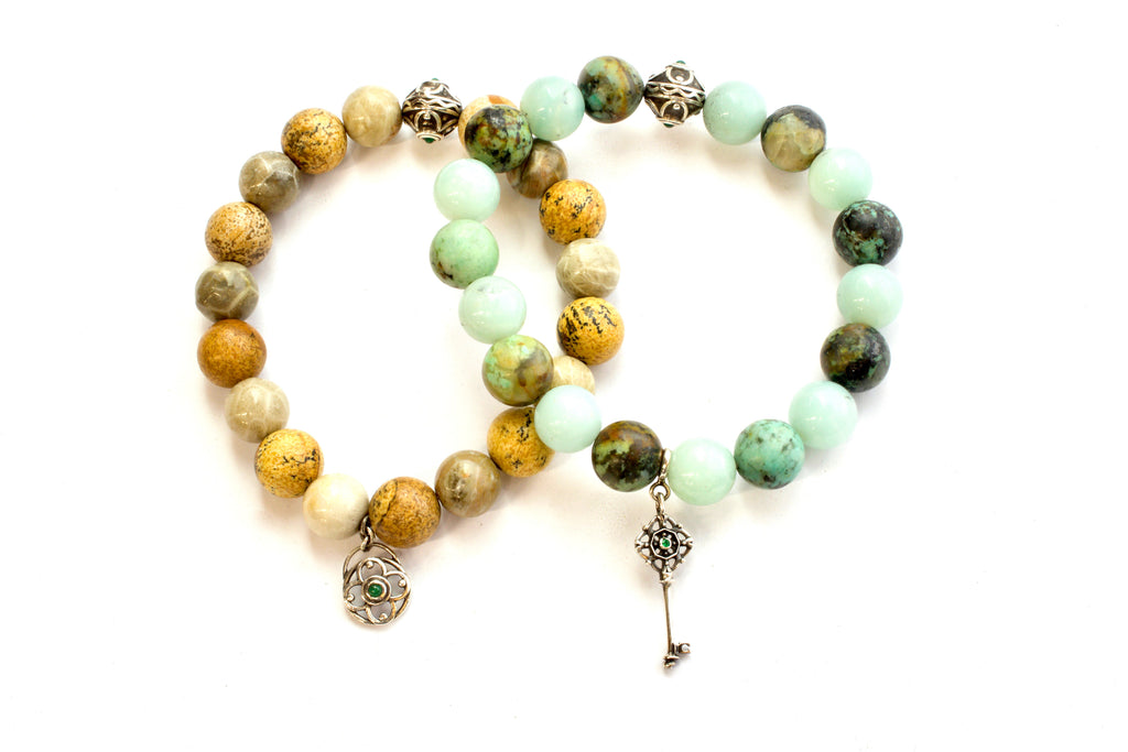 Earth Beaded Bracelets