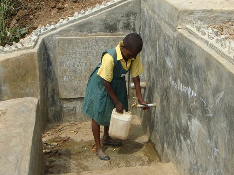 Clean water for a schoolchild