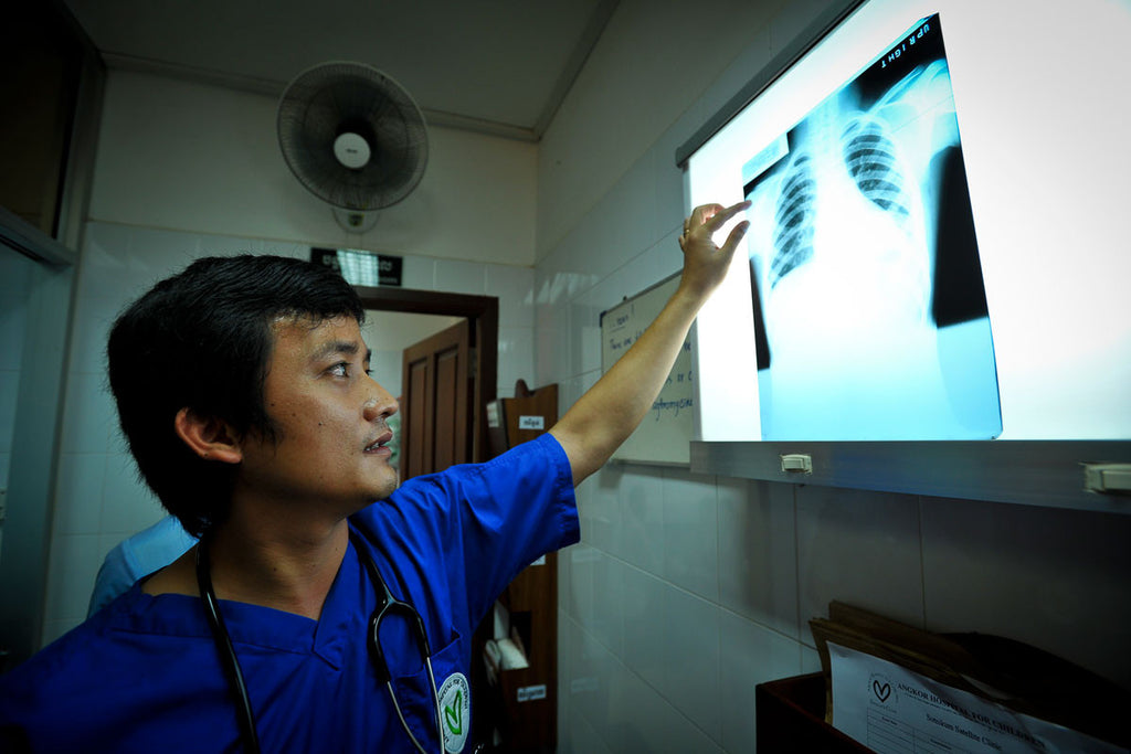 xrays for child patients in Laos