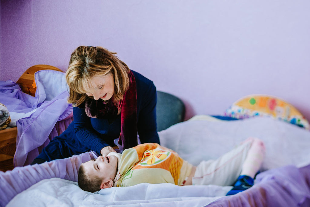 disabled child in Belarus