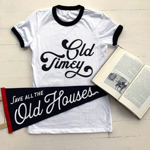 """Old Timey"" Women's Tee"