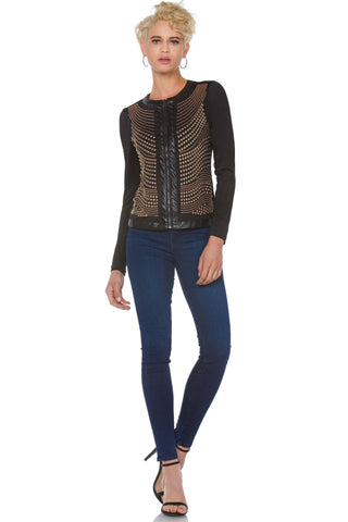 Corinna Studded Jacket for Women