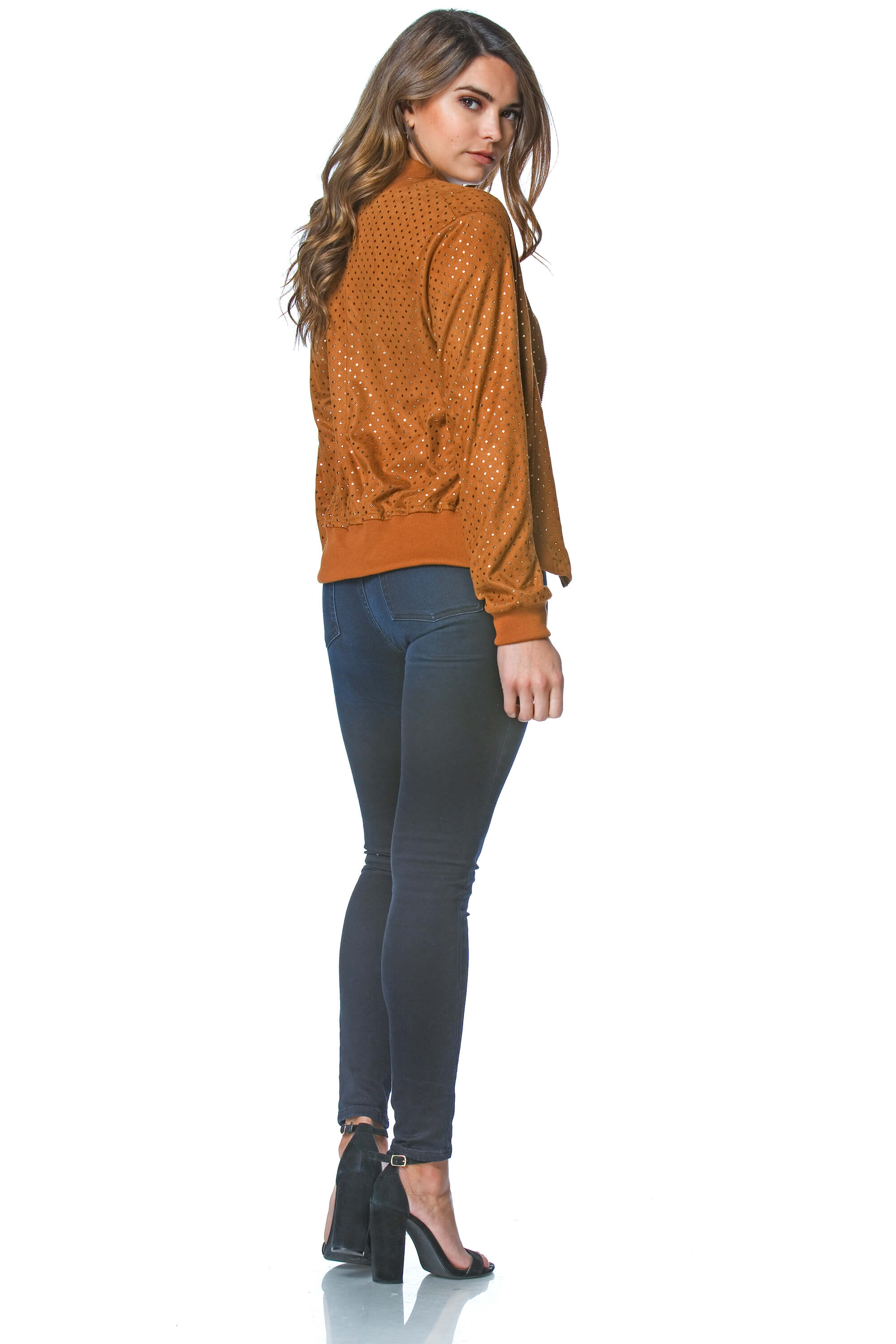 Ebba Suede Jacket for Women