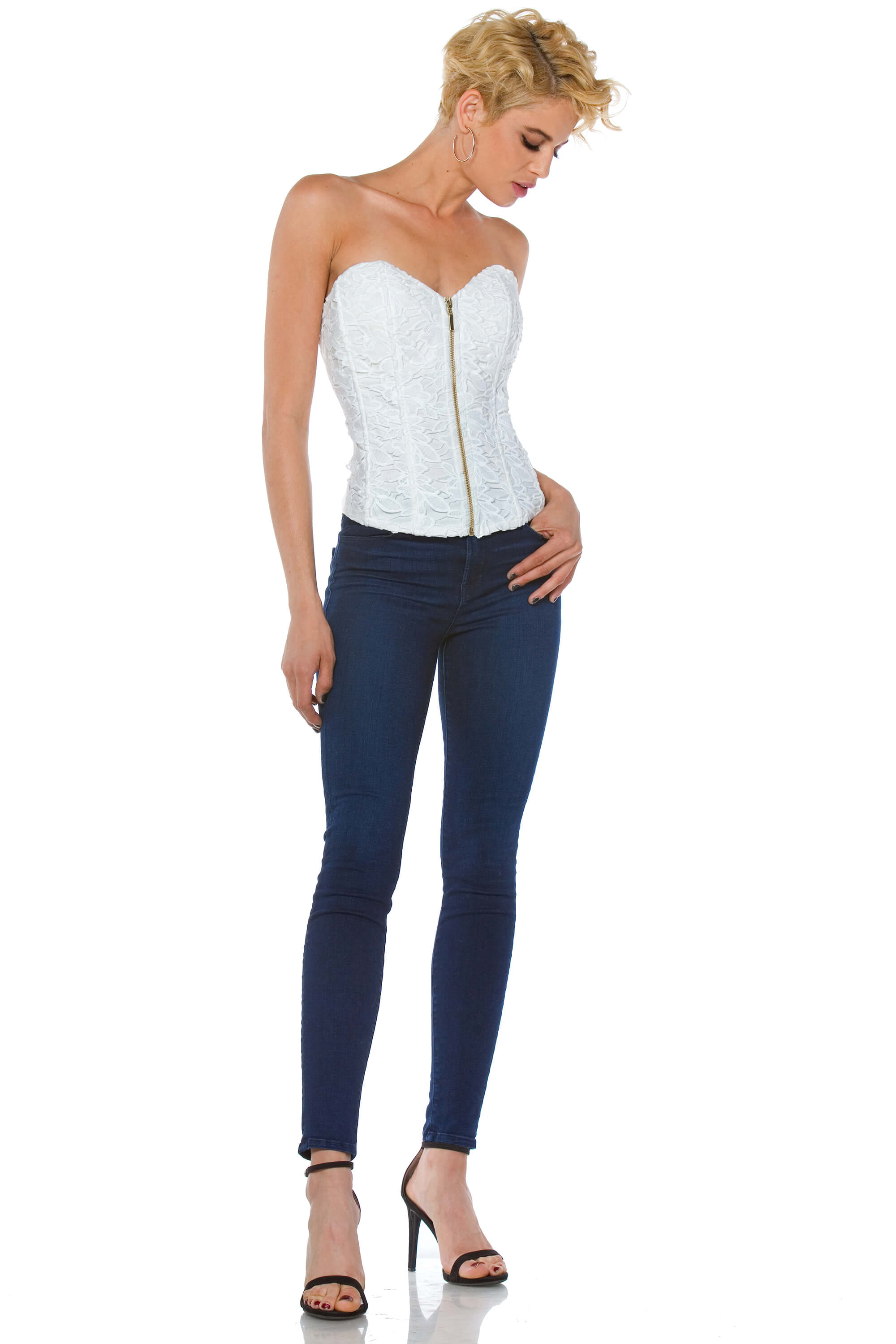 Annabelle Lace Corset Top for Women