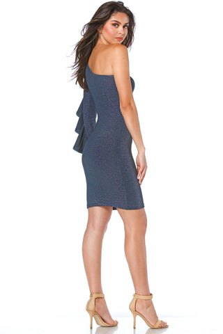 Diana One Shoulder Dress