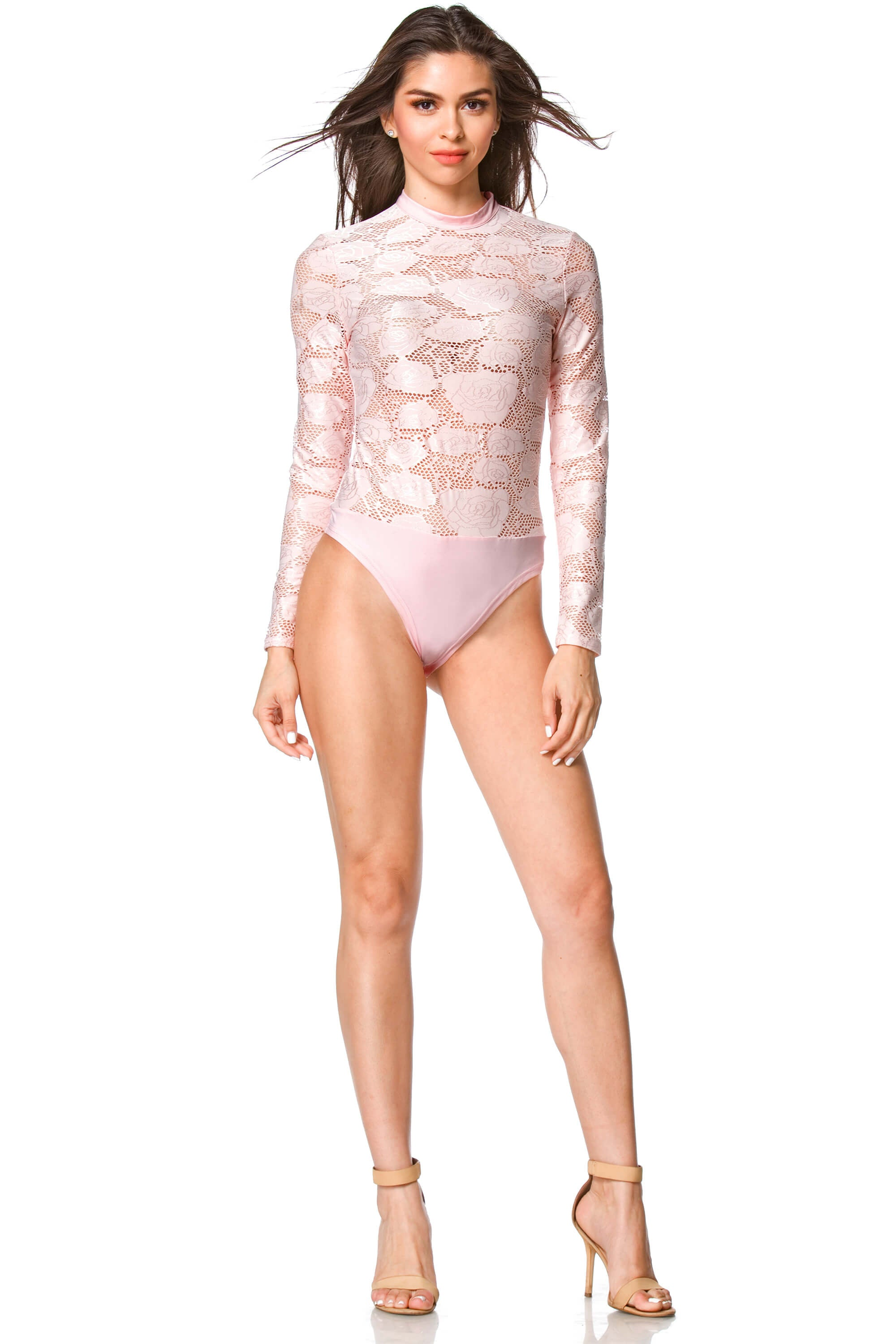 Jackie Laced Up Bodysuit for Women