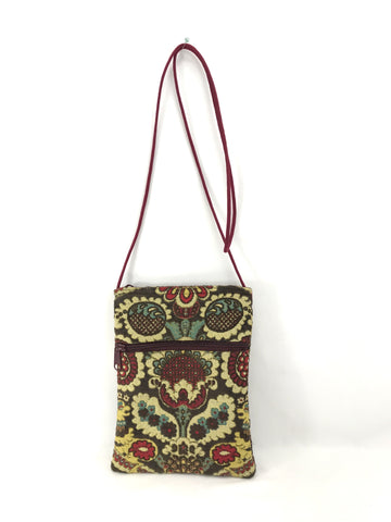 Patch Purse in Traditional Tapestry